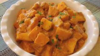 Red Curry Butternut Squash Recipe - Red Curry Squash