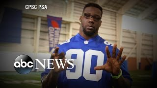 4th of July Fireworks Safety with Jason Pierre-Paul