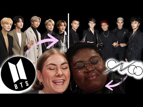 BTS And CNCO Fans Swap Fan Girl Kits