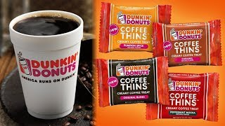 Dunkin Donuts Releases NEW Chocolate Coffee Thins Candy