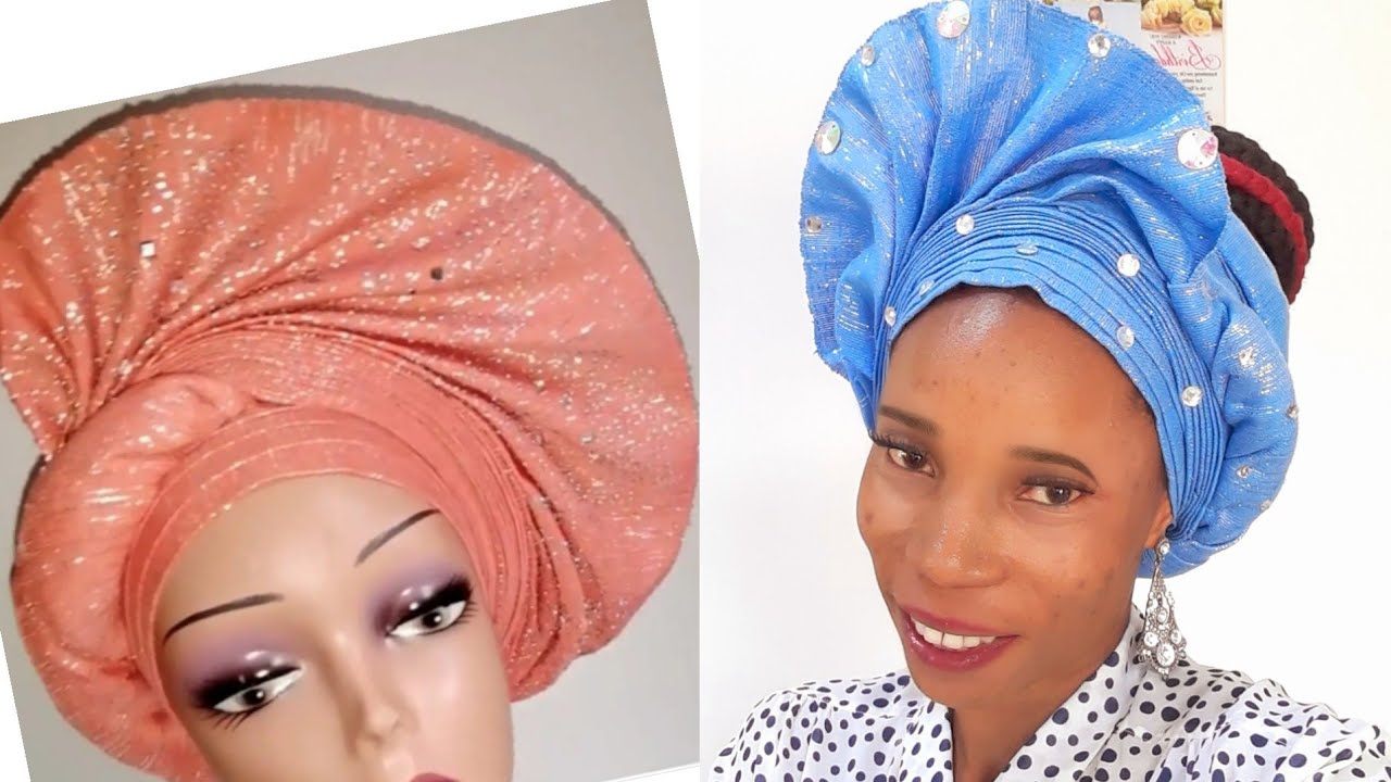 Download How to make one side twisted fan auto gele.