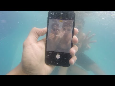 ����� ����� ������� �� ����� 7 ��� ����� ������ ��� ��� ����� :(  || Record Video By IPhone 7 Under water