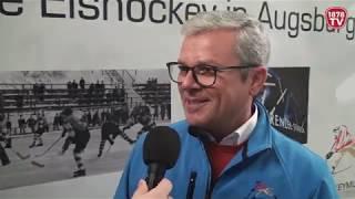 1878 TV | Interview mit Walter Neumann über das Eishockeymuseum