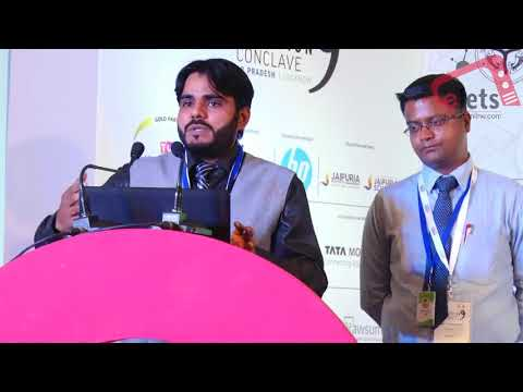 Elets Education Conclave 2018 in Lucknow: Industry Presentation by Shishir Chakraborty