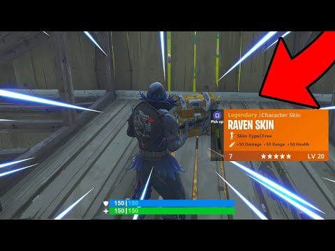 THE SECRET WAY TO WIN MORE GAMES! NEW FREE RAVEN SKIN! Fortnite Battle Royale