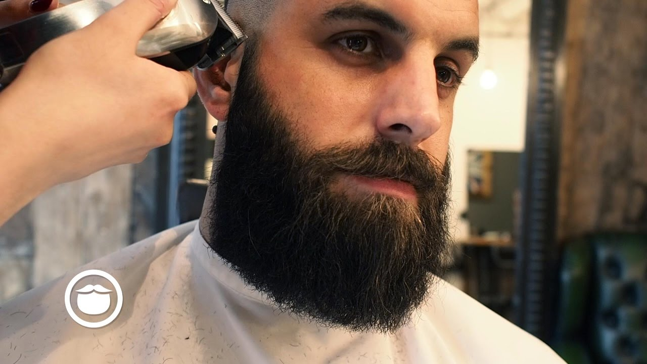 How To Shape And Maintain A Square Beard Youtube