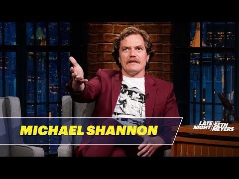 Michael Shannon Talks About Fahrenheit 451