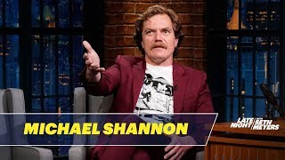 Michael Shannon Talks About Fahrenheit 451