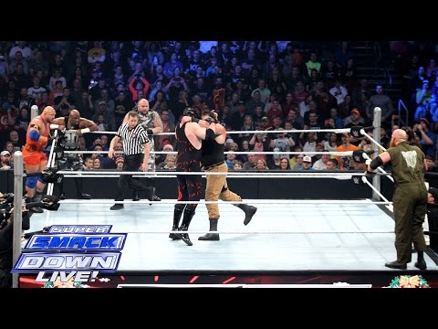Demon Kane, Ryback & The Dudley Boyz vs....