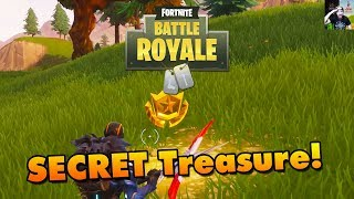 Fortnite Battle Royale - SECRET Week 2 Blockbuster TREASURE!