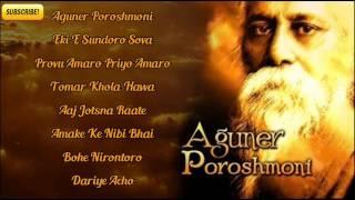 Rabindra Sangeet Audio Juke Box 2014 | Aguner Poroshmoni | Bengali Songs Juke Box
