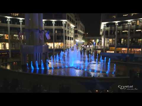 Crystal's Smart new Dancing Fountain - The Washington Harbour in Georgetown