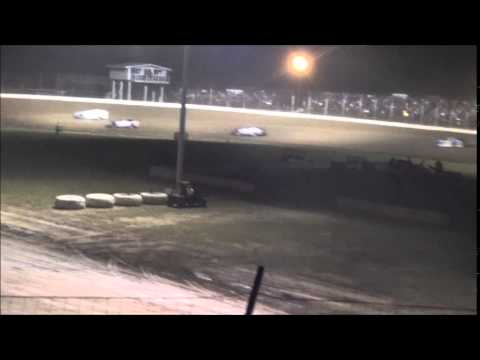 Late Model Feature from Portsmouth Raceway Park 6/7/14.
