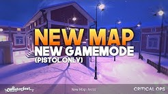*NEW* Critical Ops ARCTIC MAP + NEW GAMEMODE (Pistol only!)