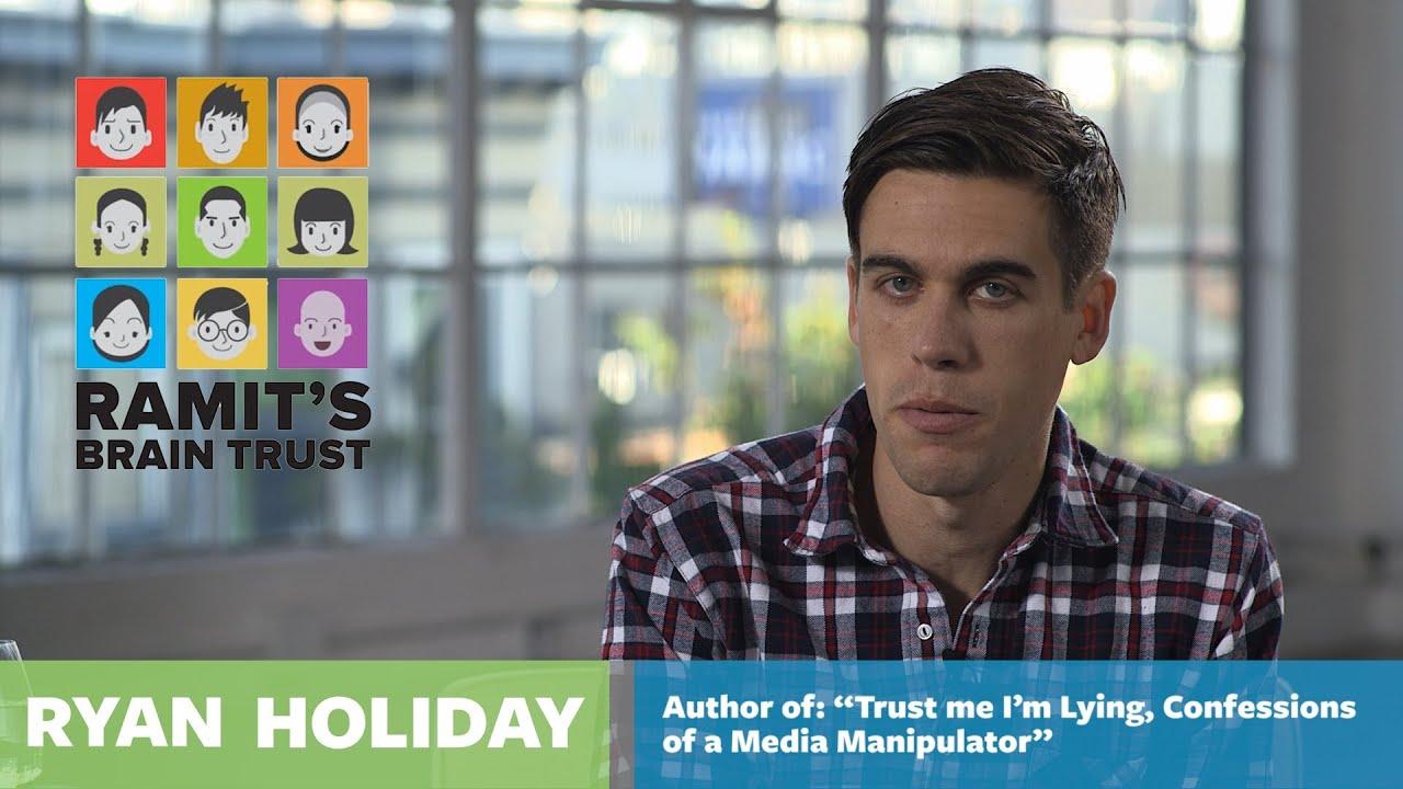 Ramit Sethi Brain Trust Interviews - Ryan Holiday