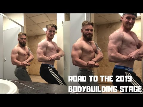 ROAD TO THE 2019 BODYBUILDING STAGE: Upping the Tren ;)