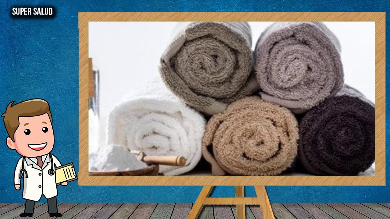 Cómo Limpiar Las Toallas De Baño Con #Bicarbonato de sodio