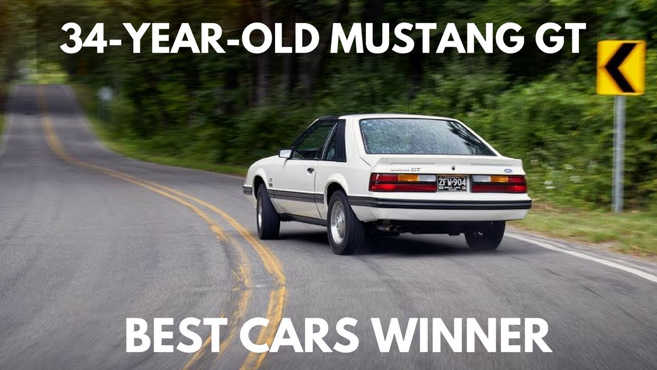 WOW.! 1983 Ford Mustang GT Driving - YouTube