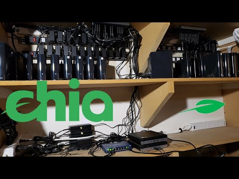 How To Easily Mine The Chia Network - XCH - With Your Hard Drives Like A PRO