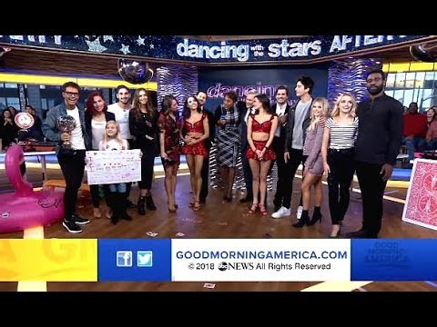 DWTS Season 27 GMA After Party (Full Video)