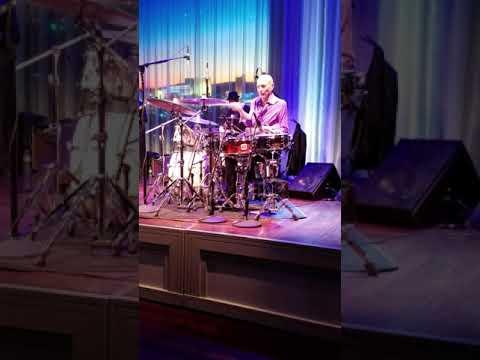 Steve Smith drum solo Myron's Caberet Las Vegas January 2018