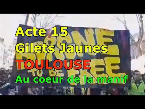 Acte 15 Gilets Jaunes TOULOUSE