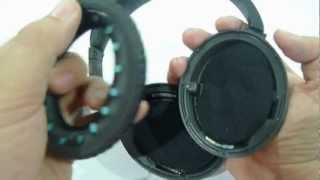 How to replace ear pad cushion for BOSE® Quiet Comfort 2 QC 2 and BOSE® Quiet Comfort 15 QC 15