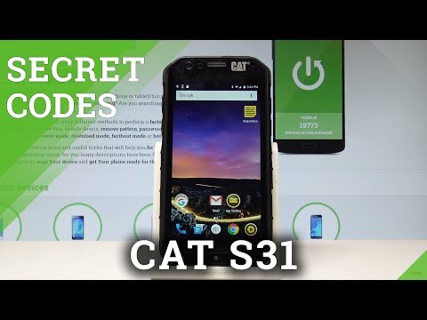 Secret Codes CAT S31 - Hidden Mode / Tricks / Tips |HardReset.Info