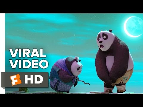 Kung Fu Panda 3 VIRAL VIDEO - Po Teaches Grandma Panda (2016) - Animated Movie HD
