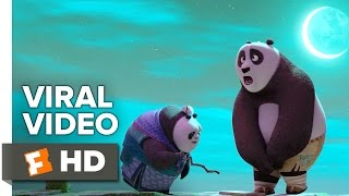 Kung Fu Panda 3 VIRAL VIDEO - Po Teaches Grandma Panda (2016) - Animated Movie HD