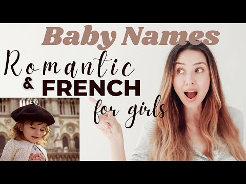 FRENCH NAMES for GIRLS with MEANINGS & PRONUNCIATIONS | RAQUEL CRUZ