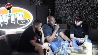 AFTV In Dubai Q&A ft Robbie, DT & Troopz | At Five, The Palm, Jumeirah [Part 1]