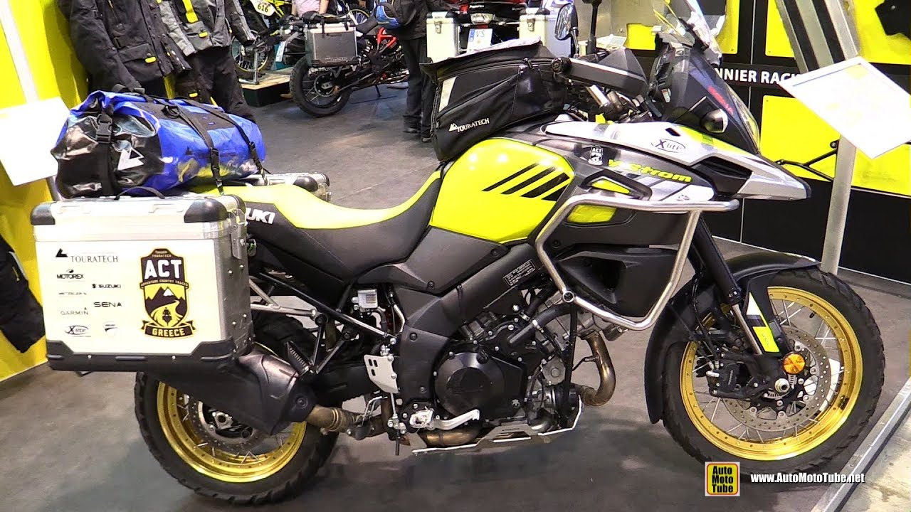 2018 suzuki v strom 1000 customized by touratech. Black Bedroom Furniture Sets. Home Design Ideas