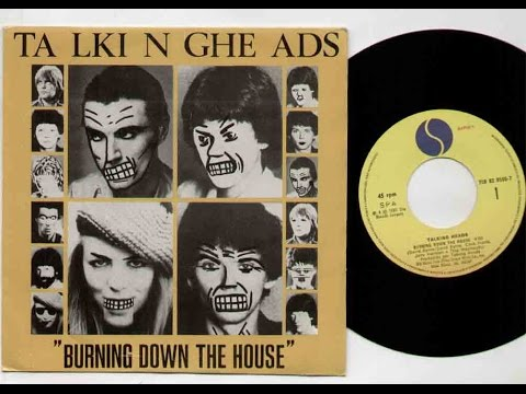 Burning Down the House - Talking Heads (High Quality)