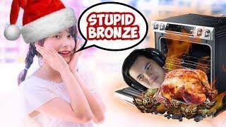 Himechin ROASTED me for her Christmas Dinner