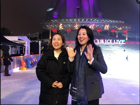 """LIVE: Skating with Chinese """"Snow Queen"""" Yang Yang in Shanghai"""