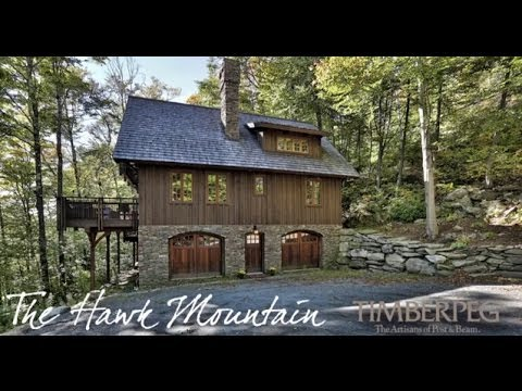 Timberpeg   The Hawk Mountain Timber Frame Home Virtual Tour   YouTube