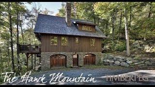 Timberpeg - The Hawk Mountain Timber Frame Home Virtual Tour