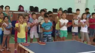 стол теннис Шымкент - 2016