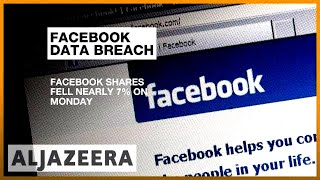 Facebook loses $40bn in share value over user data scandal | Al Jazeera English