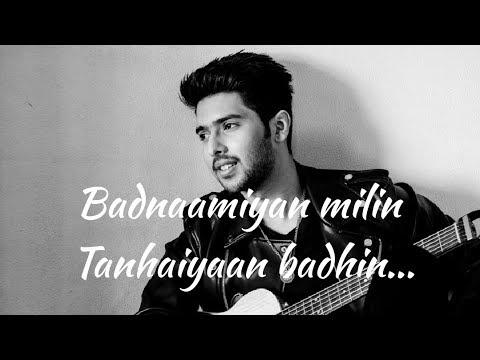 Badnamiyaan Full song lyrics|Hate story 4|Armaan Malik|Baman|Rashmi Virag||