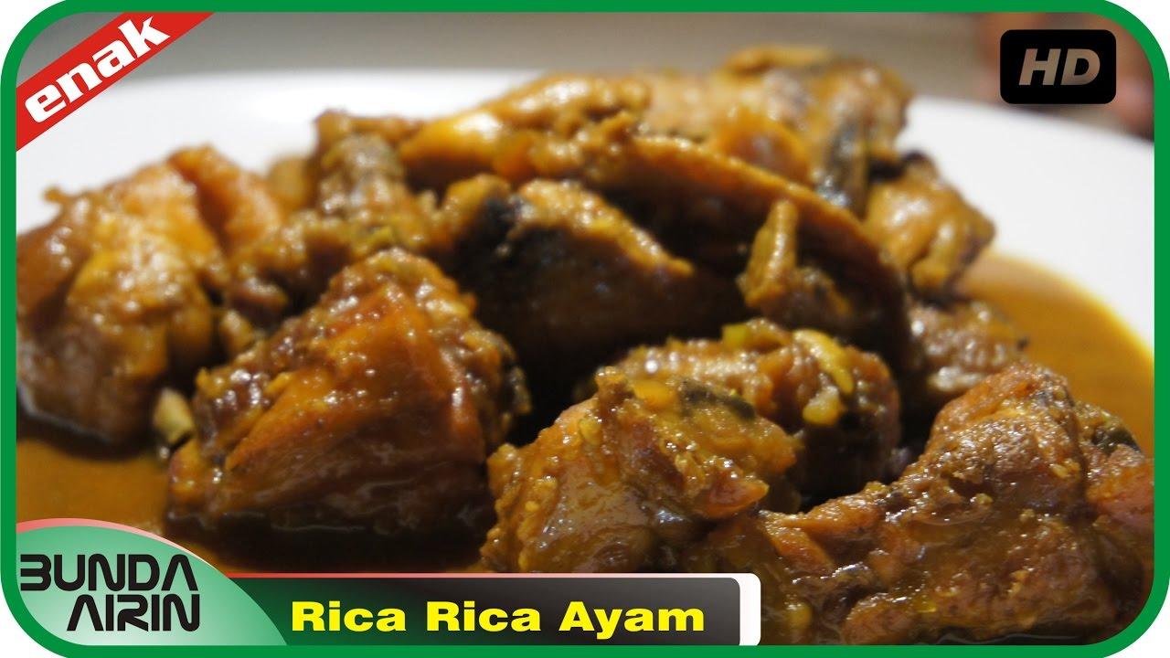 rica rica ayam resep masakan indonesia rumahan mudah