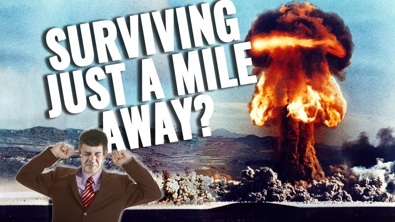 Yes, you can survive a nuclear blast just a mile away