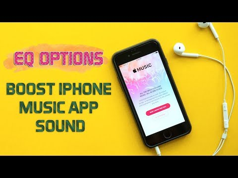 How to Boost Your iPhone's Music Volume and Quality with EQ Options   Video Tutorial 2017