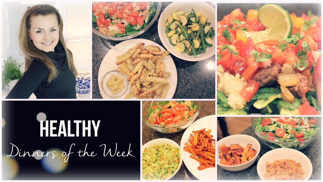 Easy Healthy Dinner Ideas Dinners Of The Week Vegan Gluten Free Recipes