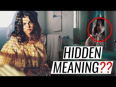 HIDDEN MEANINGS | Selena Gomez - FETISH (Official Video) + Analysis
