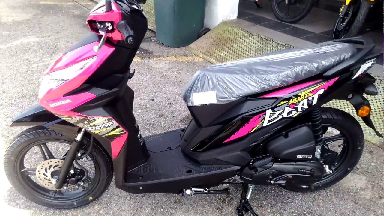 Honda Beat 110cc 2018 Magenta Maroon Youtube