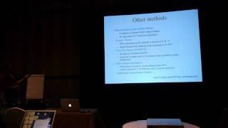 Martin White: Nonlinear structure in the universe. Lecture 1