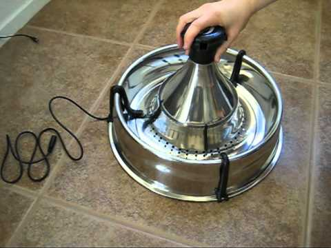 Puutty Power Review Of The Drinkwell 360 176 Stainless Steel