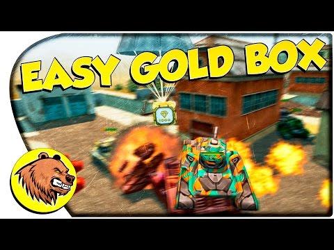 Tanki Online | EPIC EASY GOLD BOX ON POLYGON! | Танки Онлайн | НА ИЗИ ОТЖАЛ ГОЛД НА ПОЛИГОНЕ! |
